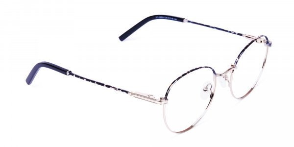 Silver-and-Marble-Tortoise-Shell-Round-Glasses-2