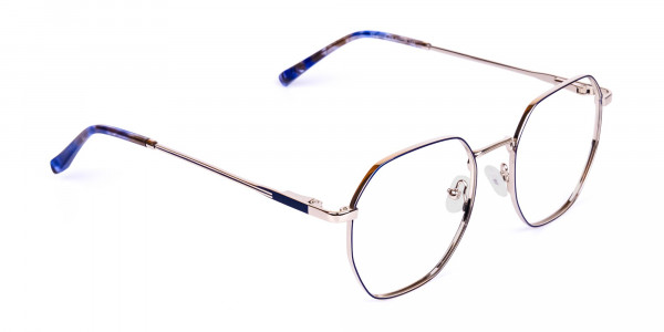 Navy-Blue-and-Silver-Geometric-Glasses-2