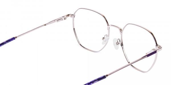 Dark-Violet-and-Silver-Geometric-Glasses-5