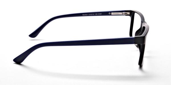 Black & Blue Glasses -3