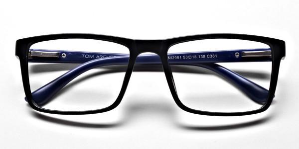 Black & Blue Glasses -5