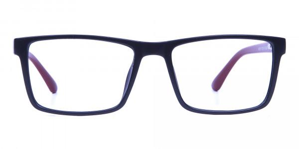 Black & Red Glasses