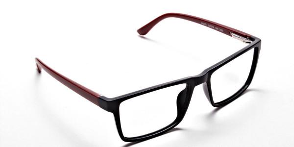 Black & Red Glasses -1