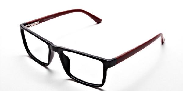 Black & Red Glasses -2