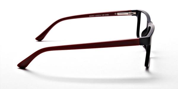 Black & Red Glasses -3