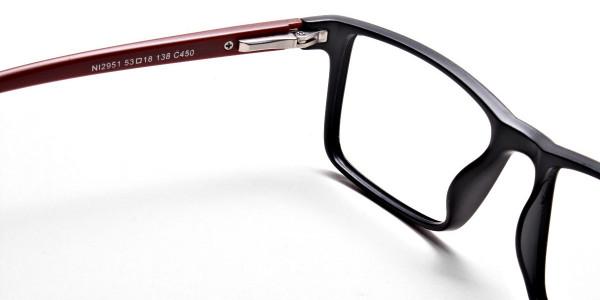 Black & Red Glasses -4