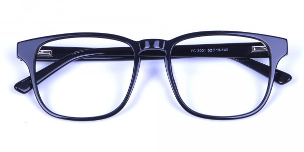 Stylish Black Rectangular Frames -6