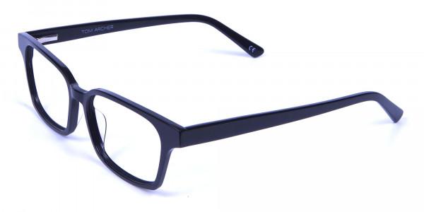 Sleek Black Rectangulars -2