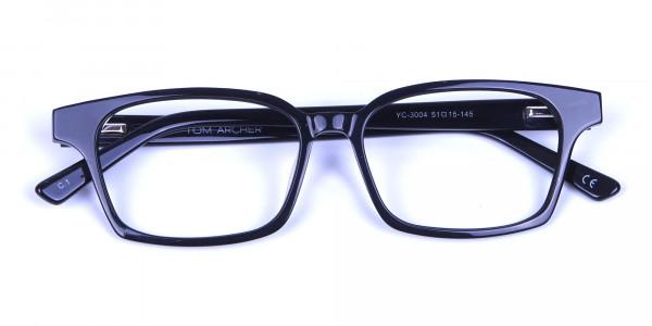 Sleek Black Rectangulars -5