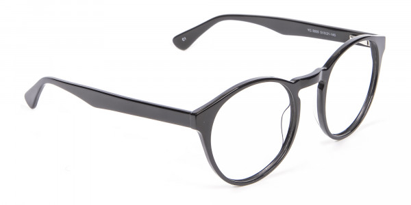 Smooth Dark Quality Eyeglasses - 1