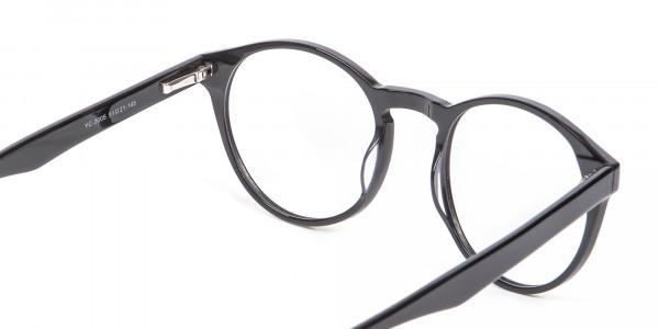 Smooth Dark Quality Eyeglasses - 4
