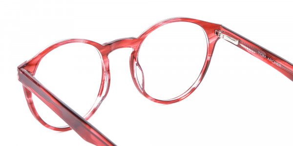 Marble Sunset Red Glasses - 4