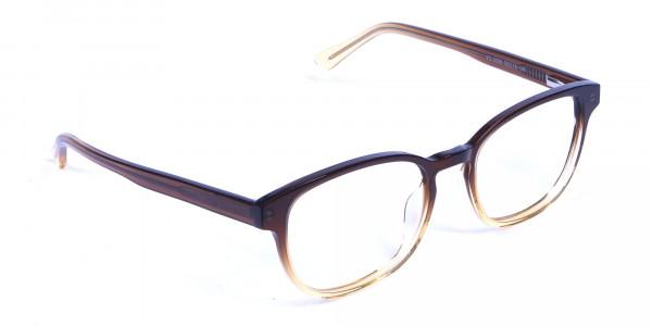 Brown Layered Glasses - 1