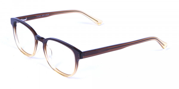 Brown Layered Glasses - 2