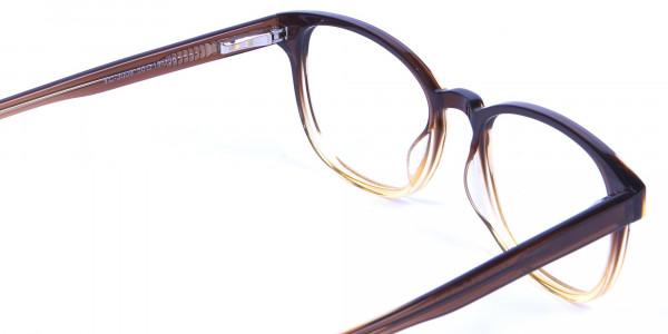 Brown Layered Glasses - 4