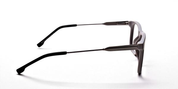 Wayfarer Black & Grey Detailed Glasses - 3