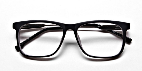 Wayfarer Black & Grey Detailed Glasses - 5