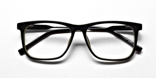 Green Rectangular Glasses for Men and Women - 5
