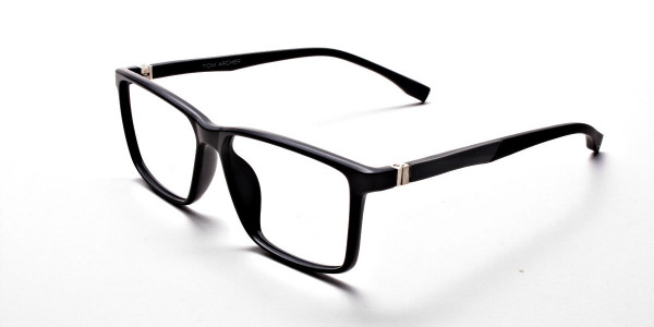 Black Matte Glasses -2
