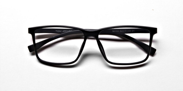 Black Matte Glasses -4