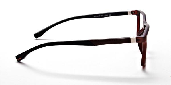 Brown Matte Glasses -3