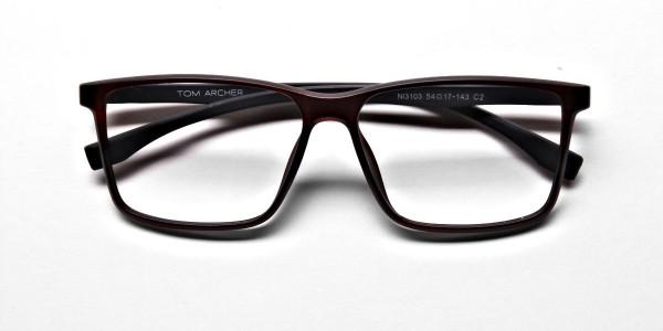 Brown Matte Glasses -5