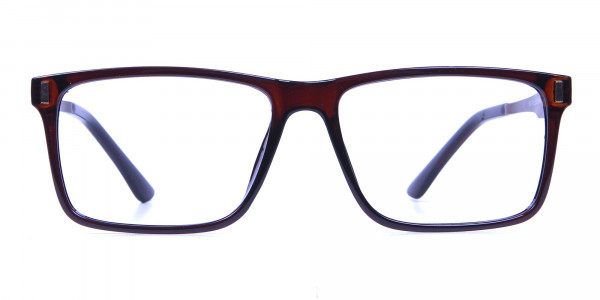 Handmade UK Brown Glasses