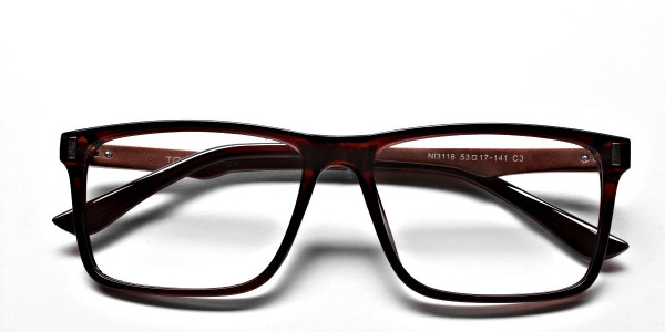 Handmade UK Brown Glasses -5