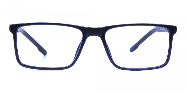 Black & Blue Computer Glasses