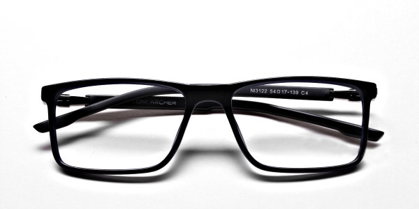 Black & Blue Computer Glasses -5