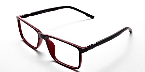 Black & Red Designer Glasses -2