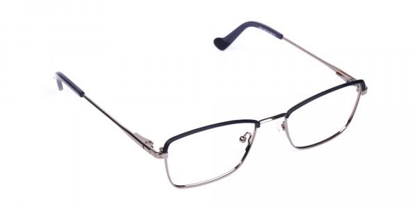 metal frame blue light glasses-2