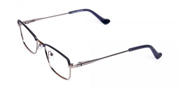 metal frame blue light glasses-3