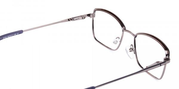 metal frame blue light glasses-5