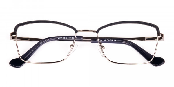 metal frame blue light glasses-6