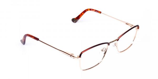 gold blue light glasses-2
