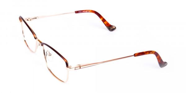 gold blue light glasses-3