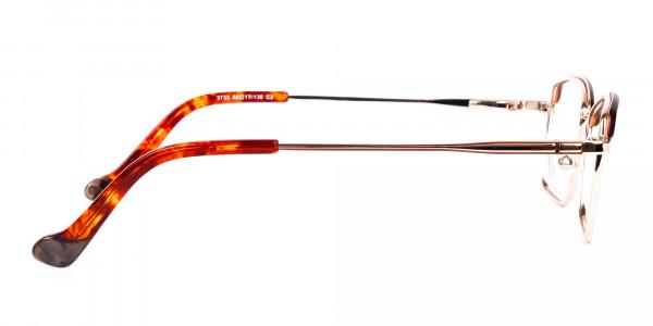 gold blue light glasses-4