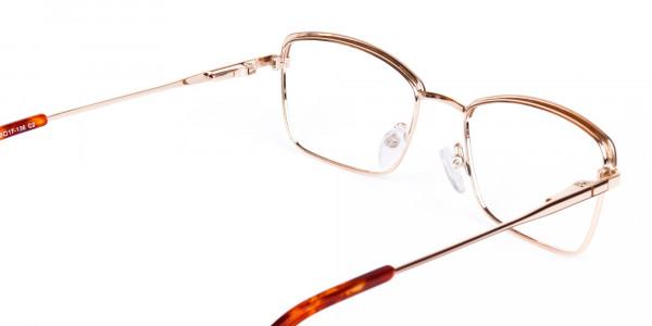 gold blue light glasses-5