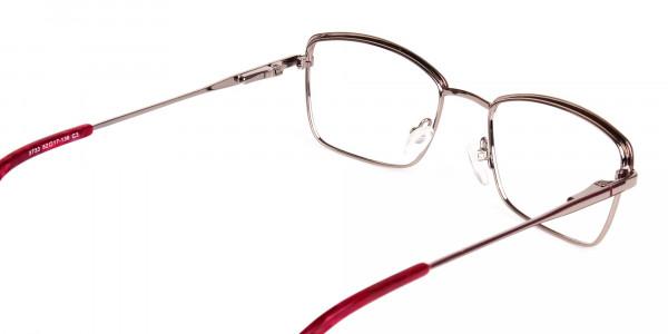 blue light glasses metal frame-5