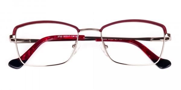 blue light glasses metal frame-6