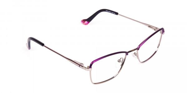 square blue light glasses-2