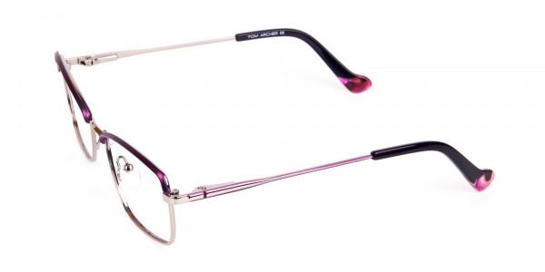 square blue light glasses-3