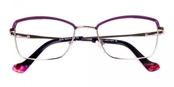 square blue light glasses-6