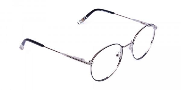 Black-Silver-Round-Full-Rim-Glasses-2