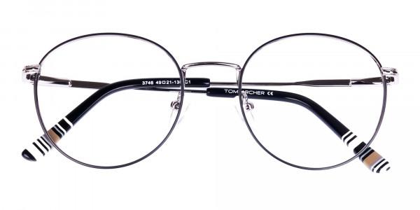 Black-Silver-Round-Full-Rim-Glasses-6