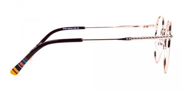 Brown-Gold-Round-Full-Rim-Glasses-4