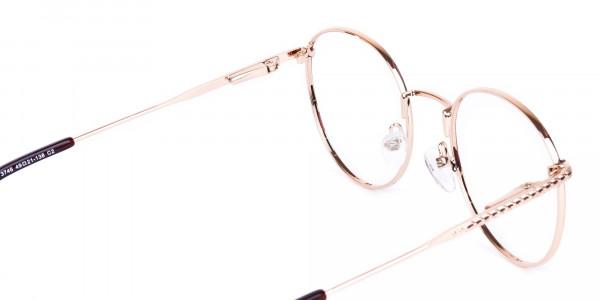 Brown-Gold-Round-Full-Rim-Glasses-5
