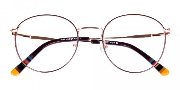 Brown-Gold-Round-Full-Rim-Glasses-6