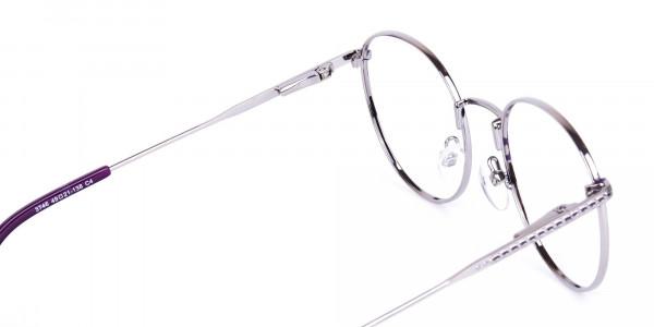 Navy-Blue-Silver-Round-Full-Rim-Glasses-5